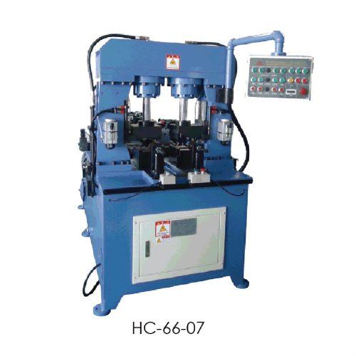 2 station hydraulic press machine HC6607