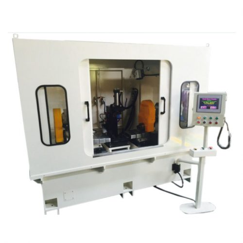 Servo two head fine boring machine
