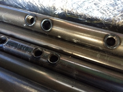 flow drilling pipes