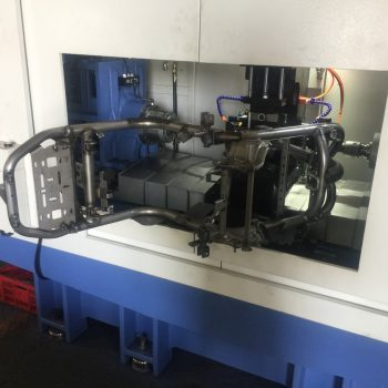 CNC Fine boring machine-process whole frame