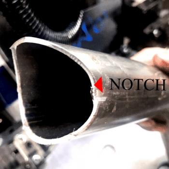 沖弧口管件 Notch pipe
